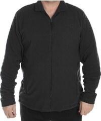 Pierre Cardin Mikina Cardin XL Micro Fleece - černá