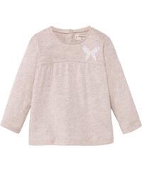 MANGO BABY Meliertes Baumwoll-T-Shirt
