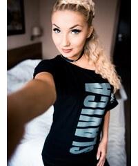 Slavica Vertical Straight Shoulder Black