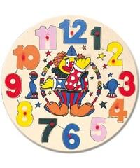 Bino Puzzle hodiny s klaunem