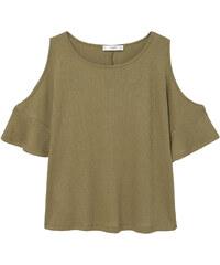 MANGO Schulterfreies T-Shirt