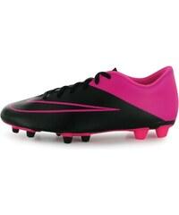Kopačky Nike Merc Vortex FG pán. černá/růžová