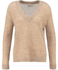 Soaked in Luxury MILLA Pullover tan melange
