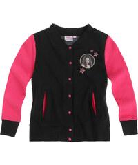 Chica Vampiro Sweatjacke schwarz in Größe 116 für Mädchen aus 80% Baumwolle 20% Polyester