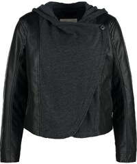 Hollister Co. Veste en similicuir black