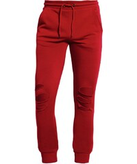 Urban Classics TERRY Pantalon de survêtement burgundy