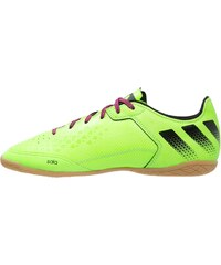 adidas Performance ACE 16.3 CT Chaussures de foot en salle solar green/core black/shock pink