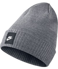 NIKE Pánská čepice Futura Knit Hat - Šedá 803732-091