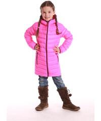 ALPINE PRO Dívčí kabát Adrianno - růžový