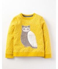 Schneefreunde Sweatshirt Gelb Mädchen Boden