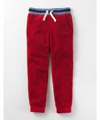 Jogginghose aus Microfleece Rot Jungen Boden