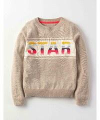 Pullover mit Stern Starmotiv Mädchen Boden