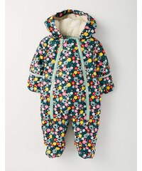 Schneeanzug für Mädchen Gebl�mt Baby Boden