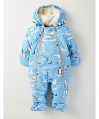 Schneeanzug für Jungen Blau Baby Boden