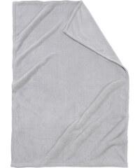 bpc living Kuscheldecke Cashmere Touch in grau von bonprix