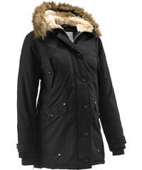 bpc bonprix collection Umstandsjacke mit Kapuze, weitenregulierbar langarm in schwarz für Damen von bonprix