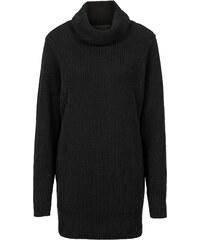 BODYFLIRT Rollkragenpullover langarm in schwarz für Damen von bonprix