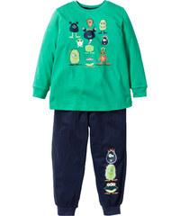 bpc bonprix collection Pyjama (2-tlg. Set) in grün für Jungen von bonprix