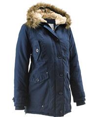 bpc bonprix collection Umstandsjacke mit Kapuze, weitenregulierbar langarm in blau für Damen von bonprix