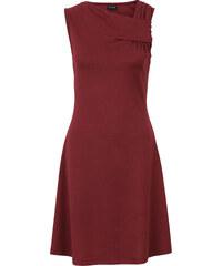 BODYFLIRT Jerseykleid in rot von bonprix