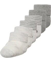 Ewers 6 PACK Socken grau melange