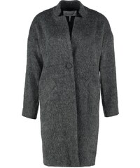 And Less METZ Wollmantel / klassischer Mantel grey melange