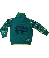 Blue Seven Chlapecký svetr Buffalo - zelený