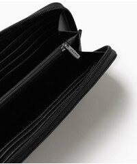 Esprit Peněženka na zip, vzhled hadí kůže a kůže