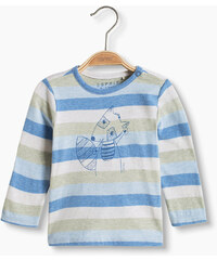 Esprit T-shirt rayé en coton bio