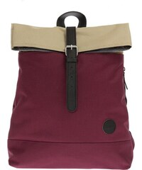 Batoh Enter Fold Top Backpack Wine Red/ Khaki Top