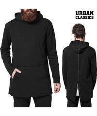 Urban Classics Hoodie mit rückseitigem Reißverschluss - L