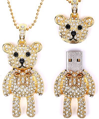 Bena USB-Stick-Halskette Teddy - 32 GB