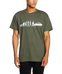Shirtzshop Herren T-Shirt Original Automechaniker Reparatur Evolution