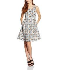 Almost Famous Damen Kleid Leaf Print Shift Dress