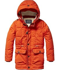 Scotch Shrunk Jungen Jacke Quilted Longer Length Jacket with Teddy Lining