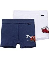 Schiesser Jungen Boxershorts 2pack Hip Shorts, 2er Pack