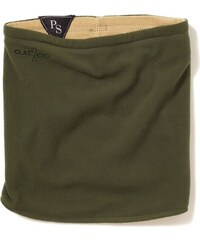 Clast nákrčník Clast/Zoo Reversible Fleece Strauss olive/khaki