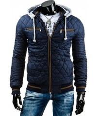 Pánská bunda Micubisi modrá - modrá