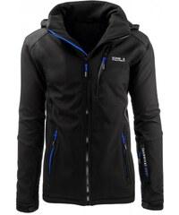 Pánská bunda Mountain černo-modrá - černá