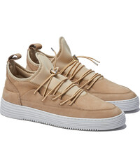 Officine Creative Filling Pieces LOW TOP NEO LACED MIX BEIGE Sneakers in Beige