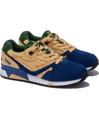 DIADORA N9000 DOUBLE L Sneakers in Braun-Blau
