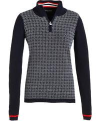 Golfino Damen Golfpullover Jacquard Knit Troyer