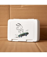 PEANUTS Svačinový box Snoopy skateboard