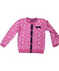 Blue Seven Dívčí svetr s hvězdičkami - růžový