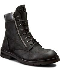 Turistická obuv JOHN GALLIANO - 1272 AA Nuovo Kenya Pel Nero