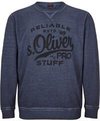 s.Oliver Sweatshirt in Cold Pigment Dye