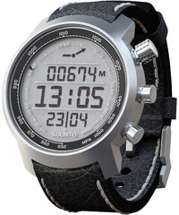 SUUNTO Multifunktionsuhr Armbanduhr Elementum Terra black leather - Höhenmesser Kompass Barometer