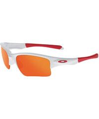 Oakley Sport- und Sonnenbrille Quarter Jacket - polished white/fire iridium