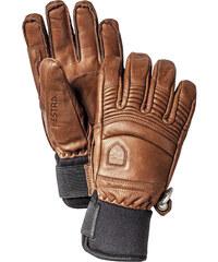 Hestra Herren Skihandschuhe / Freeride-Handschuhe Fall Line Leather
