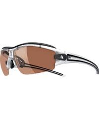 adidas Performance Sportbrille Evil Eye Halfrim Pro XS crystal/black / LST Active silver + Wechselgläser Orange